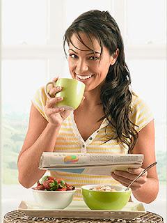Bajar de peso para el desayuno