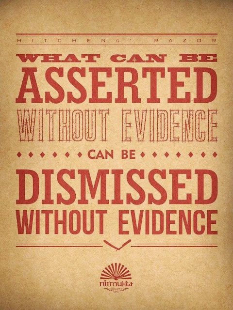Christopher Hitchens Razor Quote - What can be asserted without evidence can be dismissed without evidence