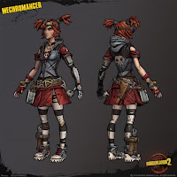 Gaige's Character Design