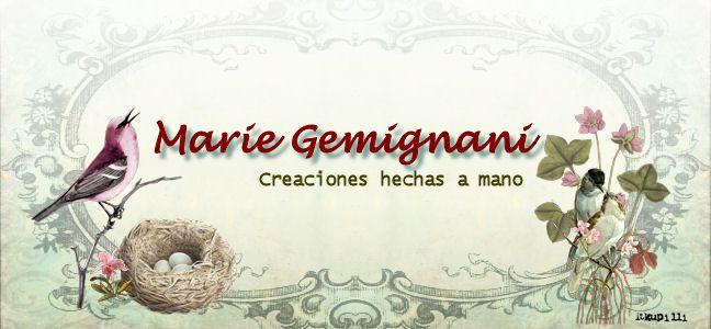 Marie Gemignani Creaciones hechas a mano
