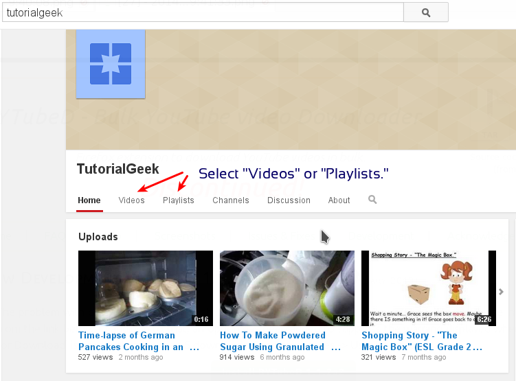how to download youtube playlist in ubuntu