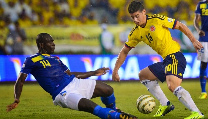 Colombia vs Ecuador en vivo