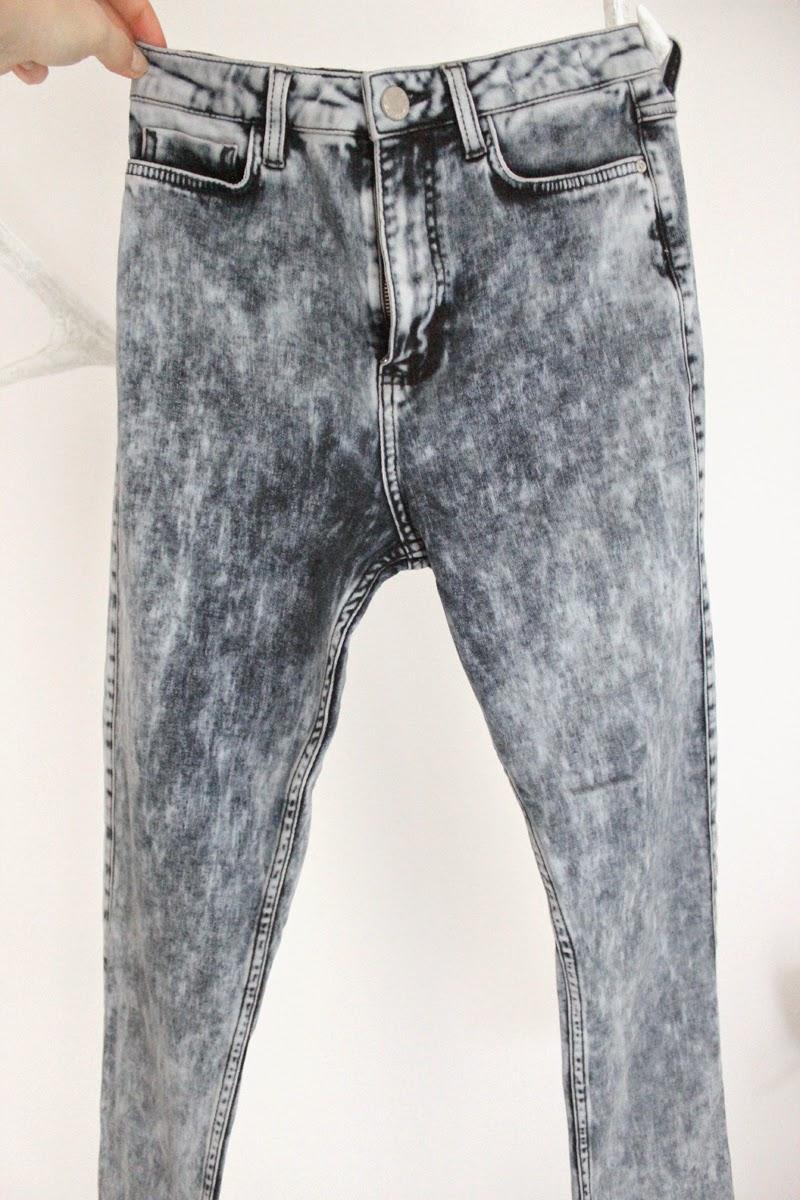 High Waist Jeans meliert Urban Outfitters