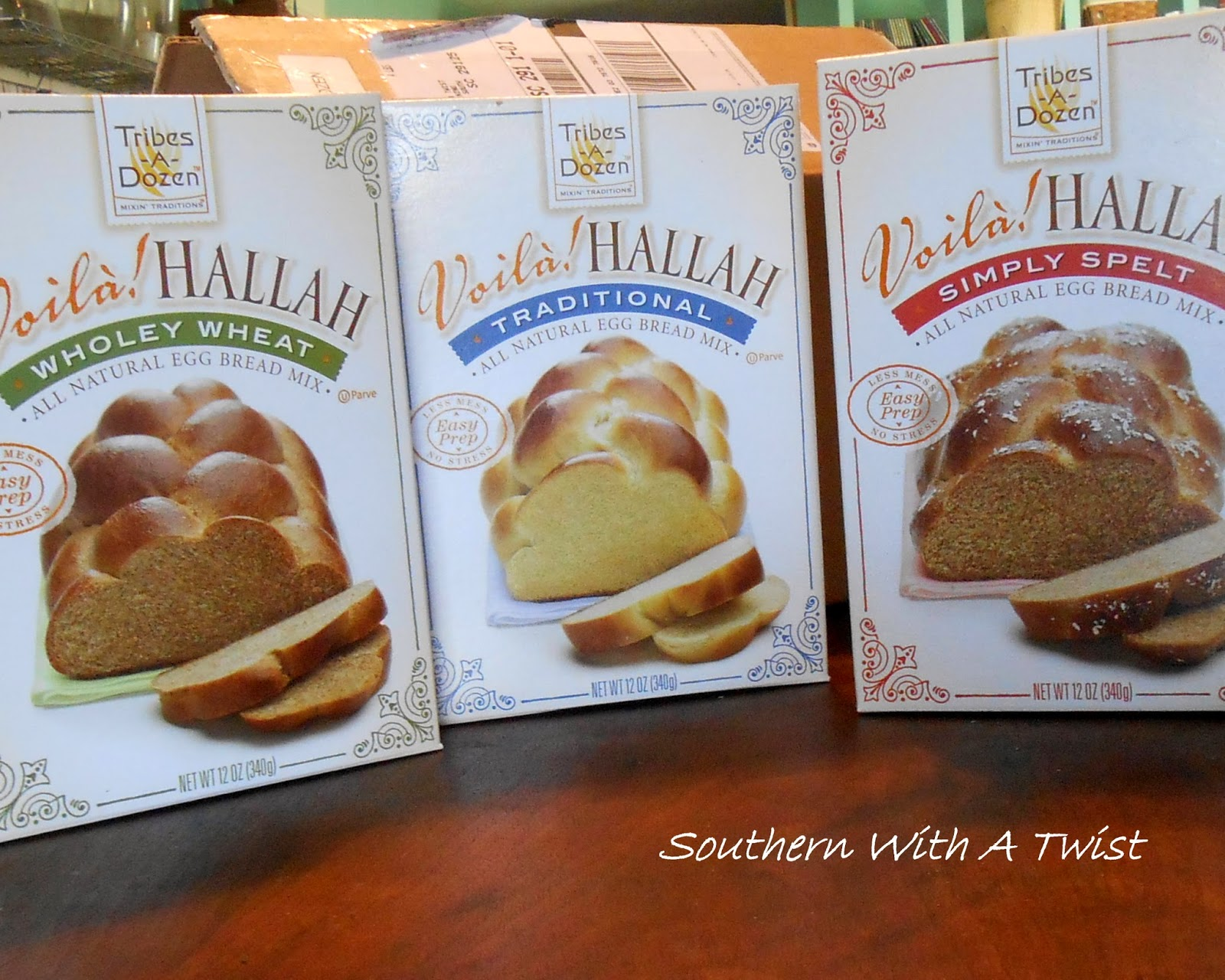 bread, doughnuts, and tarts! oh my! with voila! hallah bread mixes from tribes-a-dozen