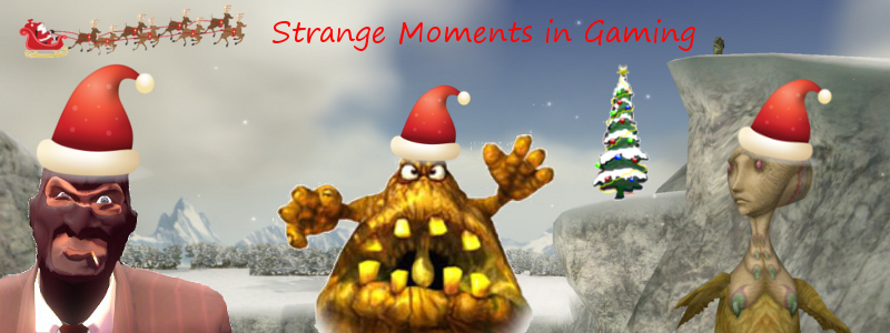 Strange Moments in Gaming