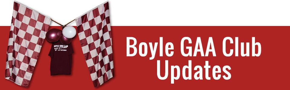 Boyle GAA Club Updates