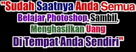 Cara Belajar Photoshop