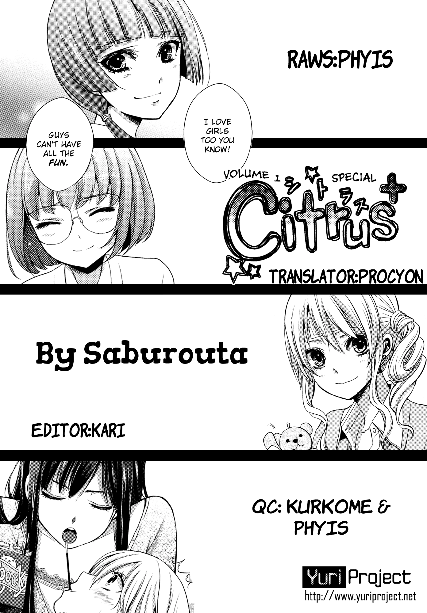 Citrus (SABURO Uta) - Chapter 6
