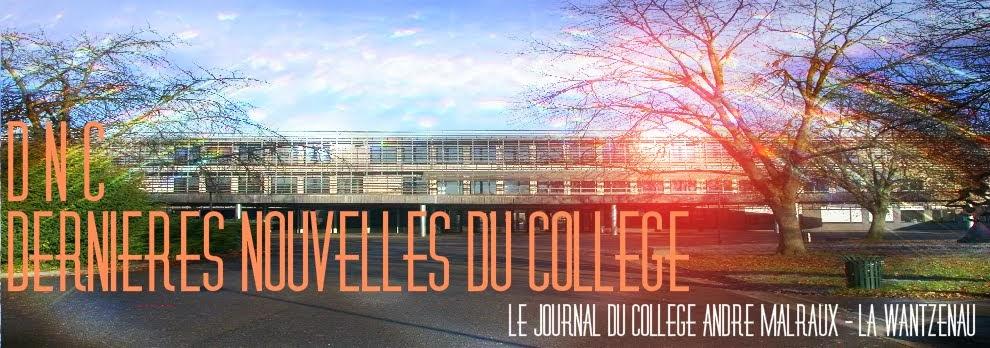 Dernières Nouvelles du Collège