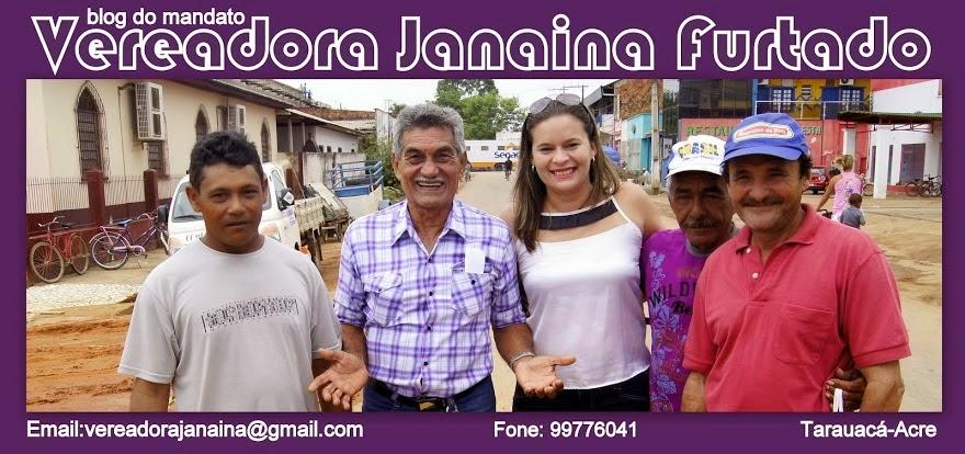 BLOG DA VEREADORA JANAINA FURTADO