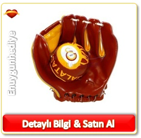 Galatasaray Beyzbol Eldiven Top Set