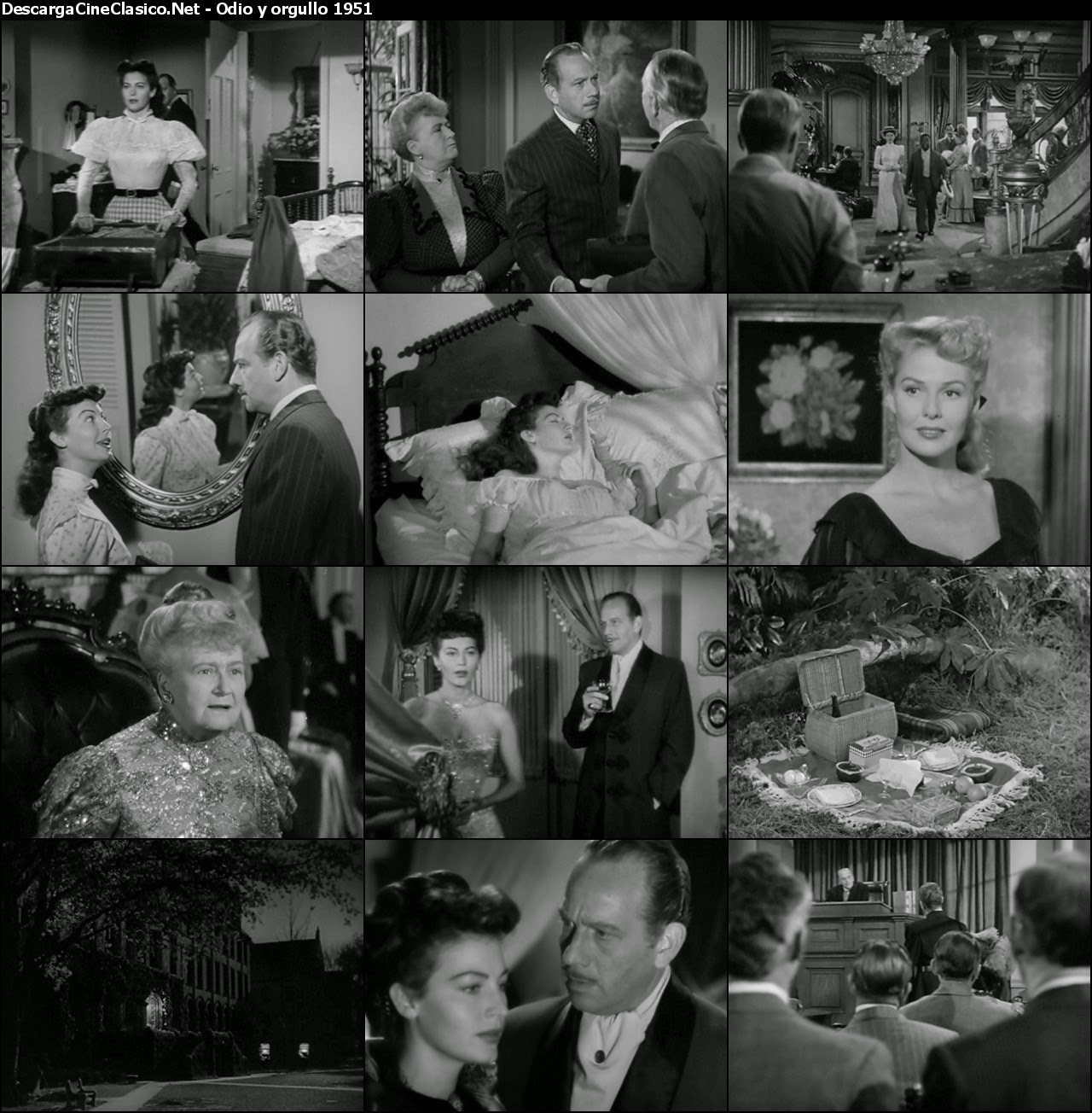 Odio y orgullo (1951 - My Forbidden Past)