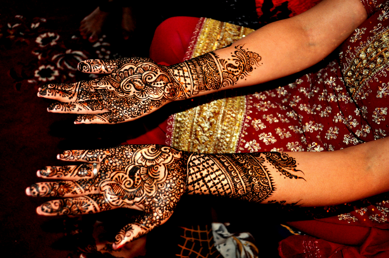Mehndi Ceremony S Download : Mehndi designs for hands drawings arm simple