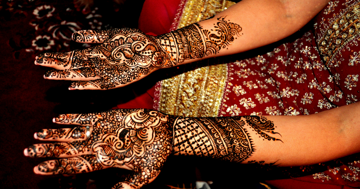 Mehndi Design For Fingers Front Side : Beautiful latest simple arabic pakistani indian bridal