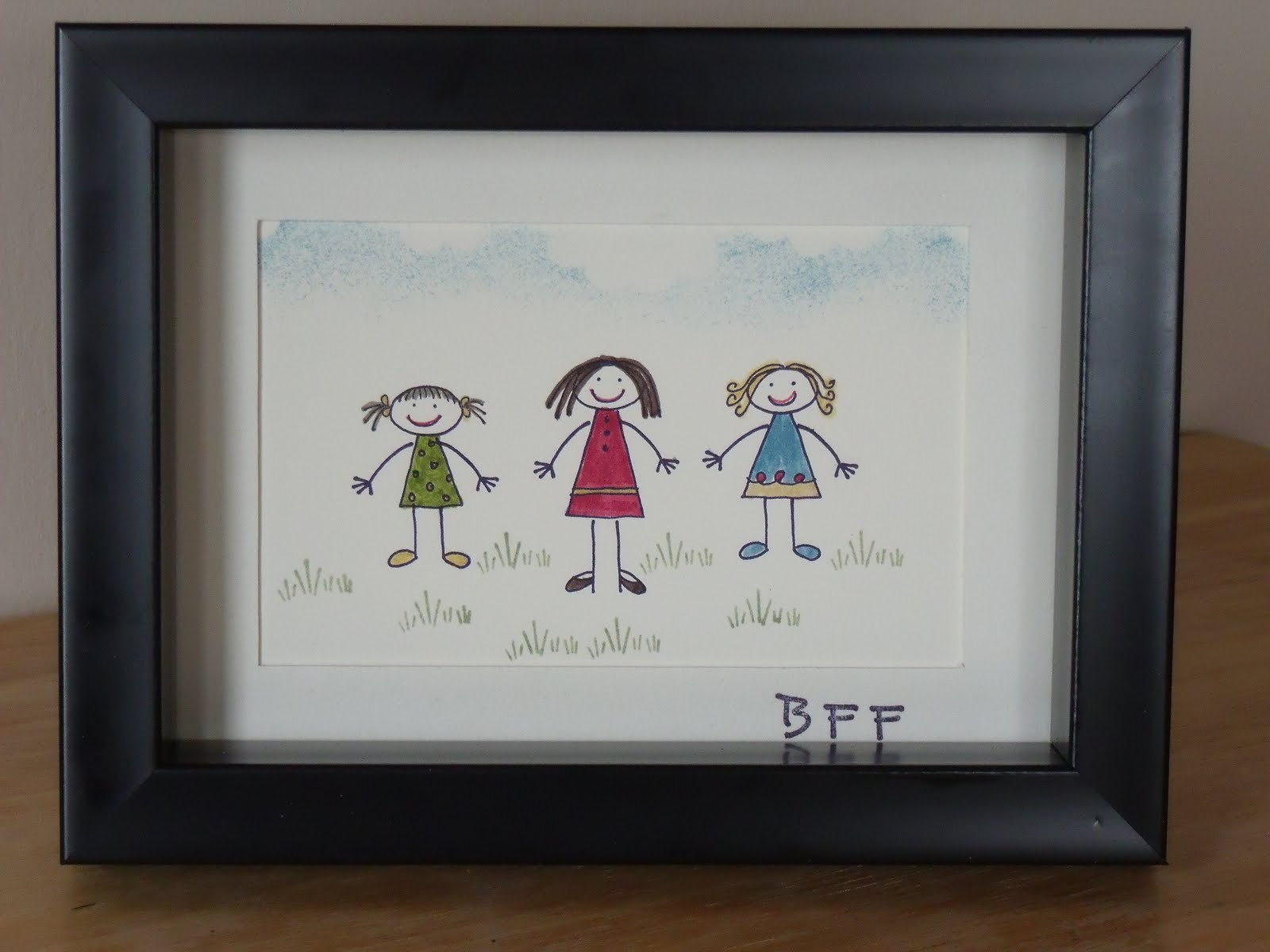 Stampin\' with Cindy: All in the Family & BFFs Frame Class