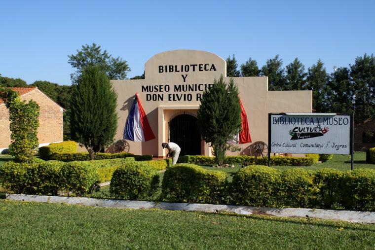 "Biblioteca y Museo Municipal ""Don Elvio Romero"""