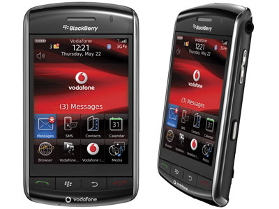 Handphone BlackBerry Strom 9500