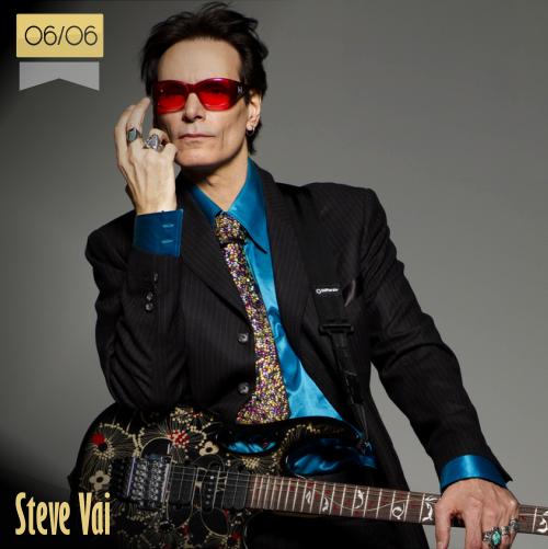 6 de junio | Steve Vai - @stevevai | Info + vídeos