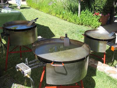 Gerard's paella pans