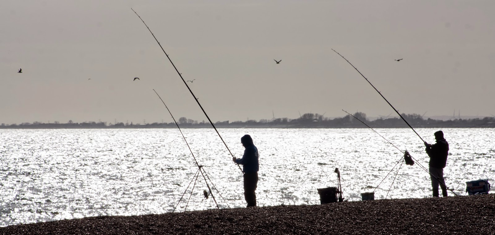 Fishing - Hythe, 27/03/15