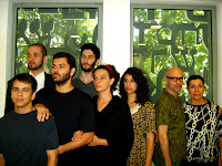 Elenco com Gilberto Gawronski e Miriam Halfim