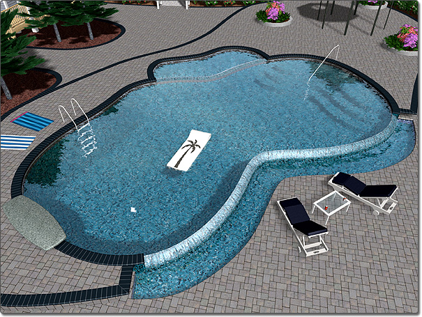Swimming pool designs ideas wallpaper hd for Swimming pool layouts and designs