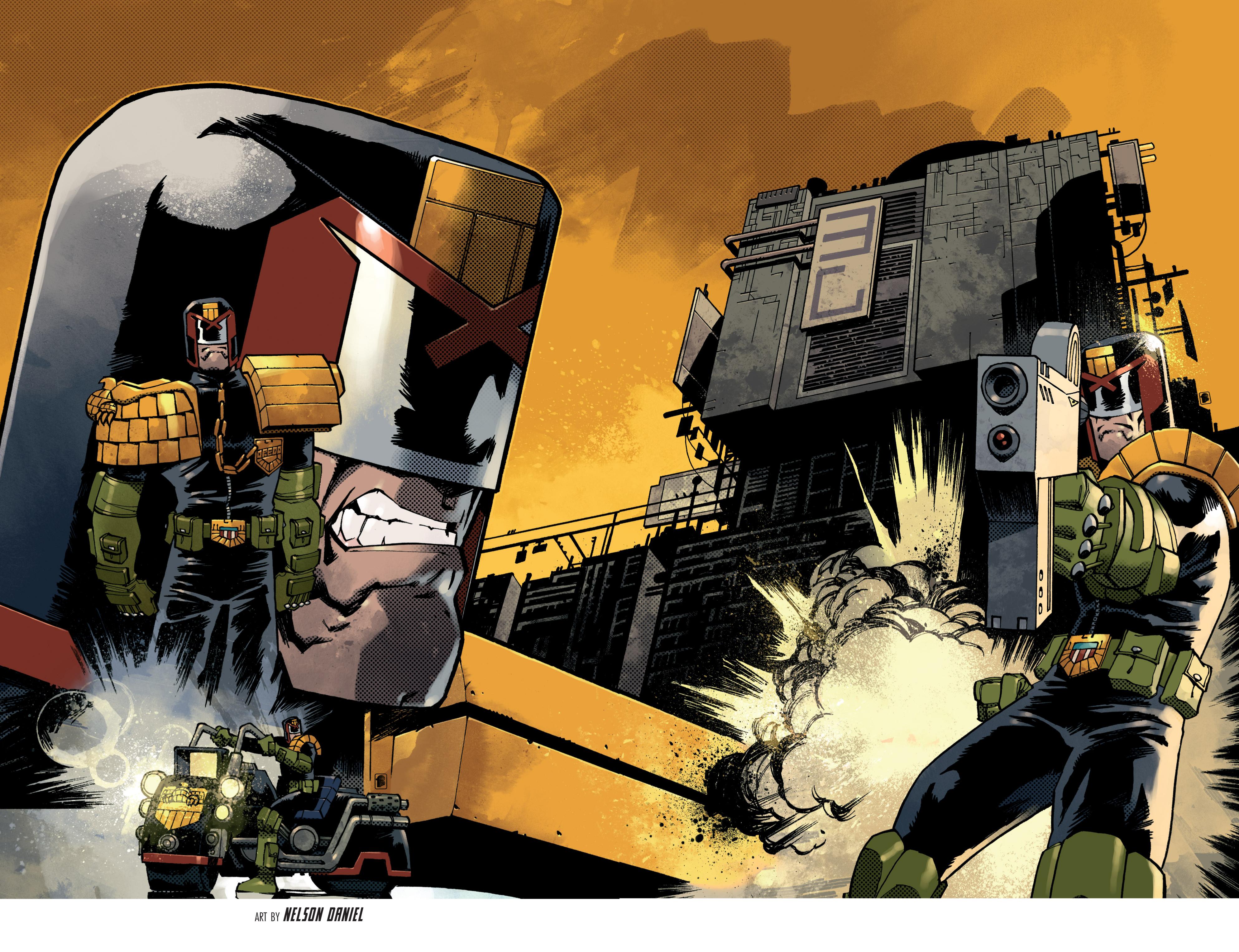 Read online Judge Dredd (2012) comic -  Issue # _TPB 3 - 94