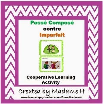 http://www.teacherspayteachers.com/Product/Passe-Compose-contre-Imparfait-Cooperative-Learning-Activity-951002