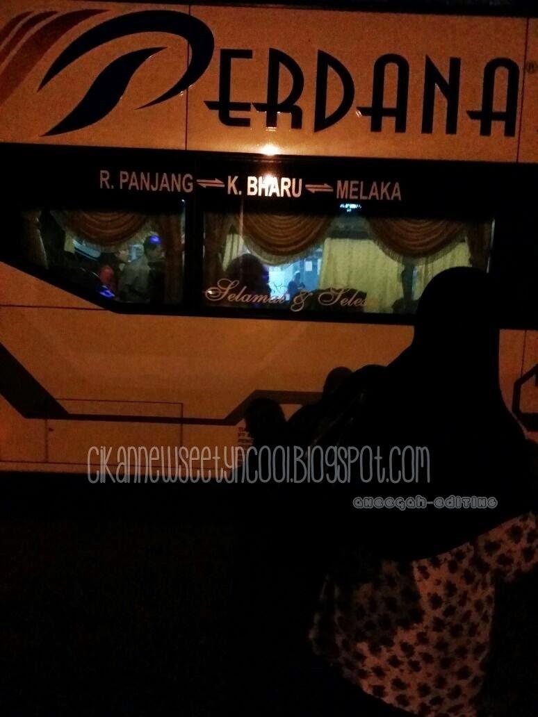 Bus Ekpress Perdana Dua Tingkat