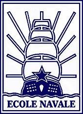 Emblème de l'École navale, représentant le Borda