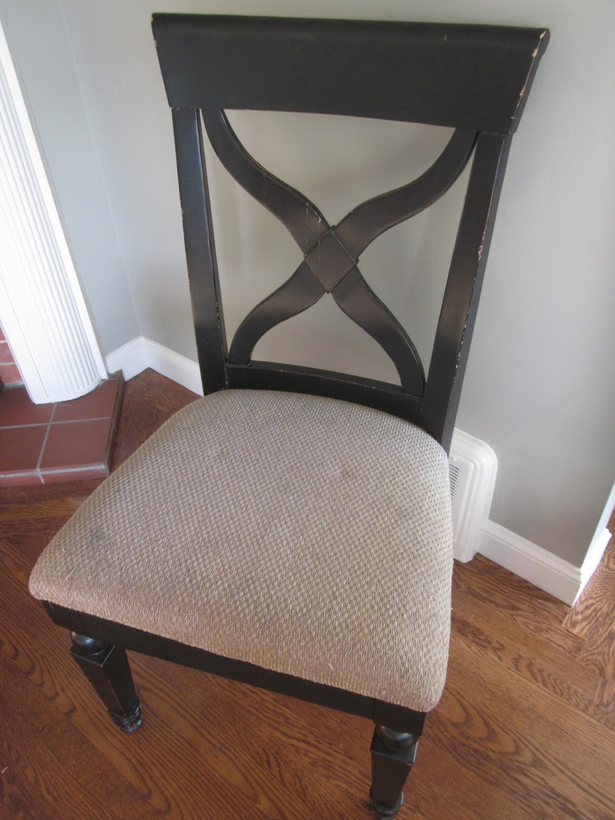 From Foothills To Fog Reupholstered Dining Room Chairs