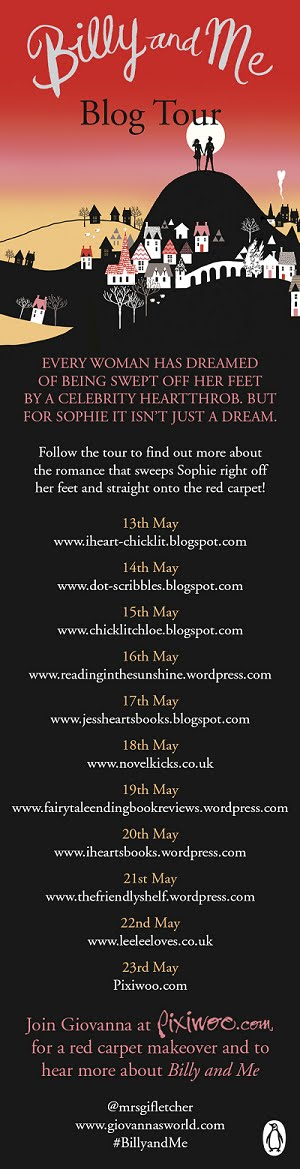 'Billy & Me' blog tour!