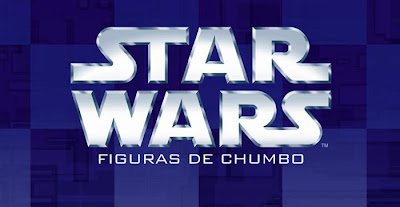 Star Wars - Miniaturas em chumbo Jogo de Xadrez
