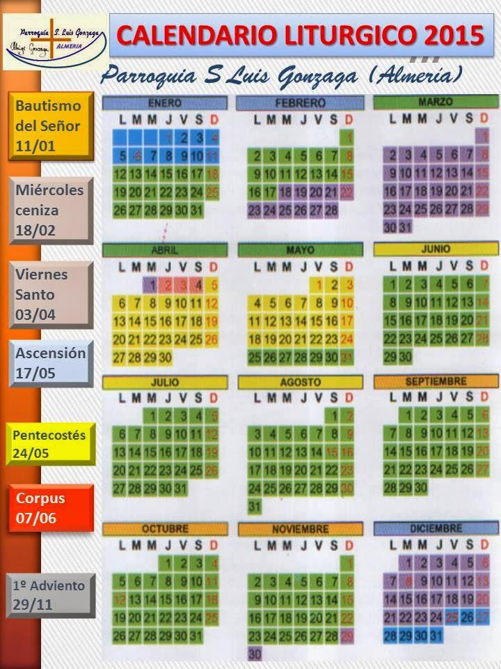 ... almería calendario litúrgico 2015 1011 x 428 jpeg 72kb calendario