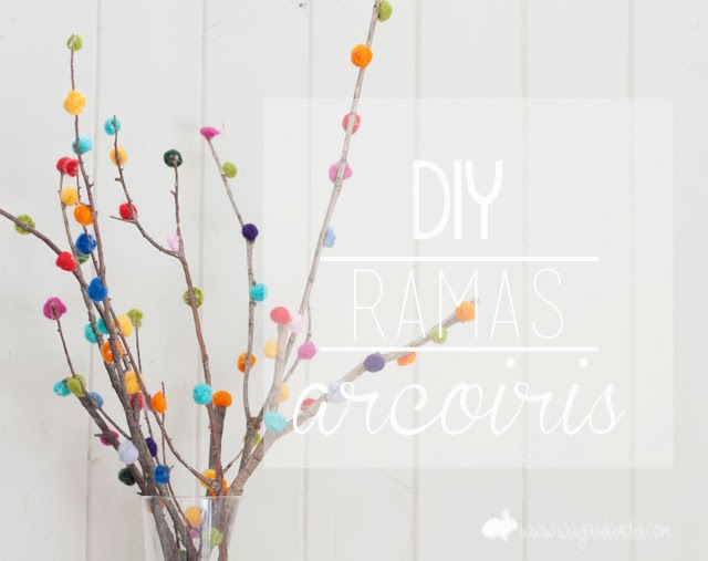 ideas diy pompones