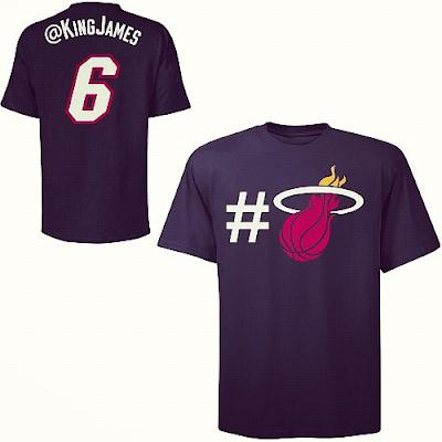 T-shirt NBA Twitter