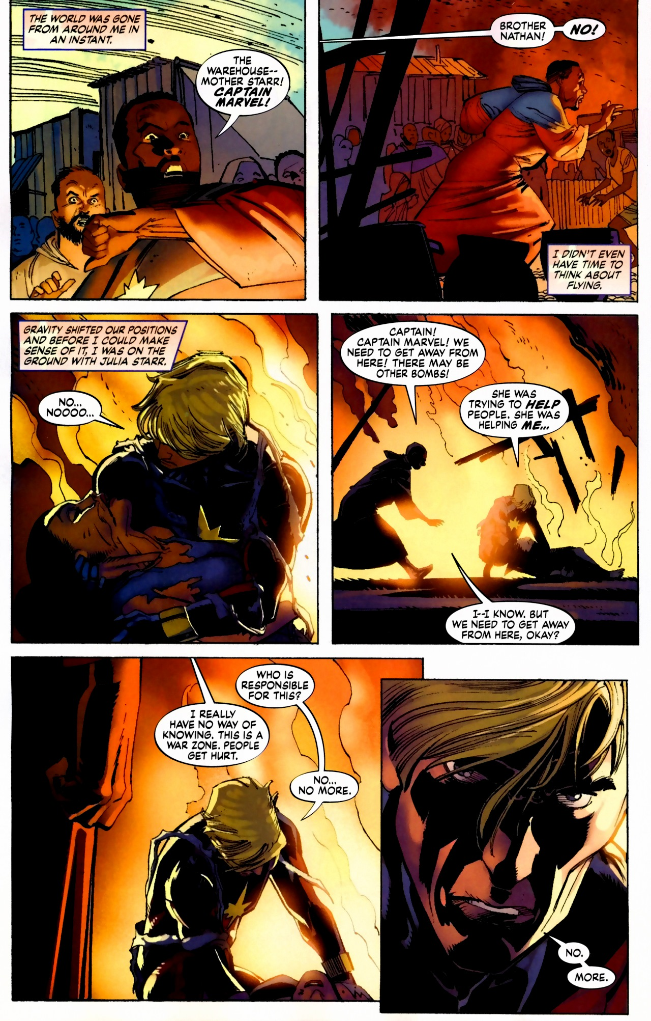 Read online Secret Invasion: The Infiltration comic -  Issue #5 - 17