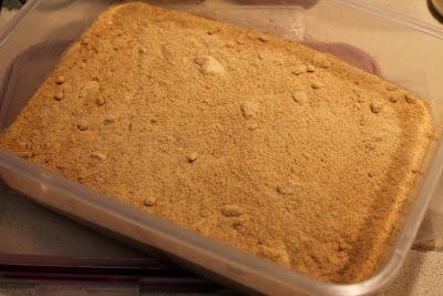 Toasted durum pasta flour