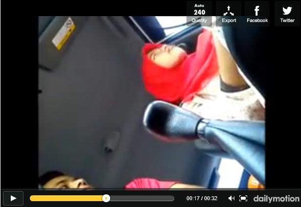18SX Video Viral Remaja Bertudung Layu Disedut