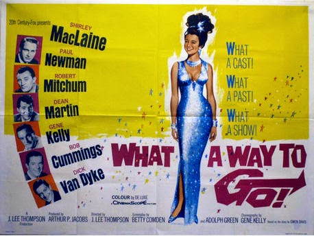 UK Quad film poster for What A Way To Go