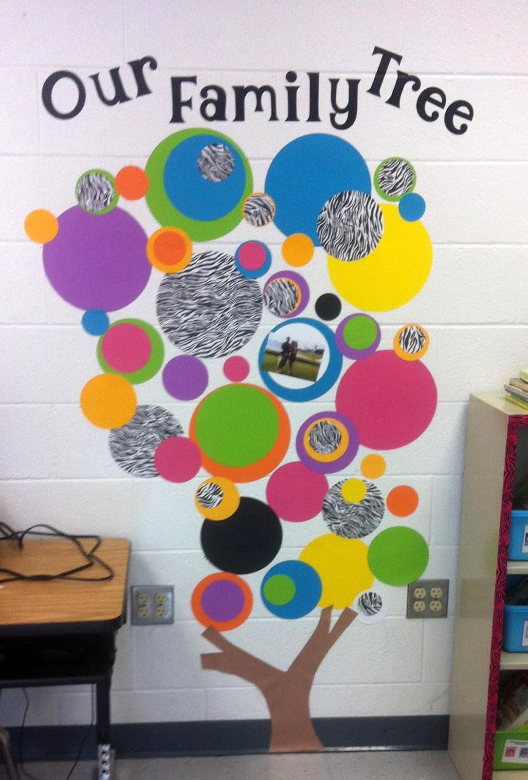 Preschool Classroom Family Tree Ideas ~ Everyday giggles monday make it family tree for classroom