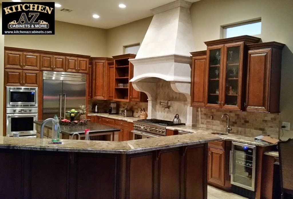 Hardwood Kitchen Cabinets for Phoenix