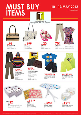 SOGO Warehouse Clearance Sale 2012