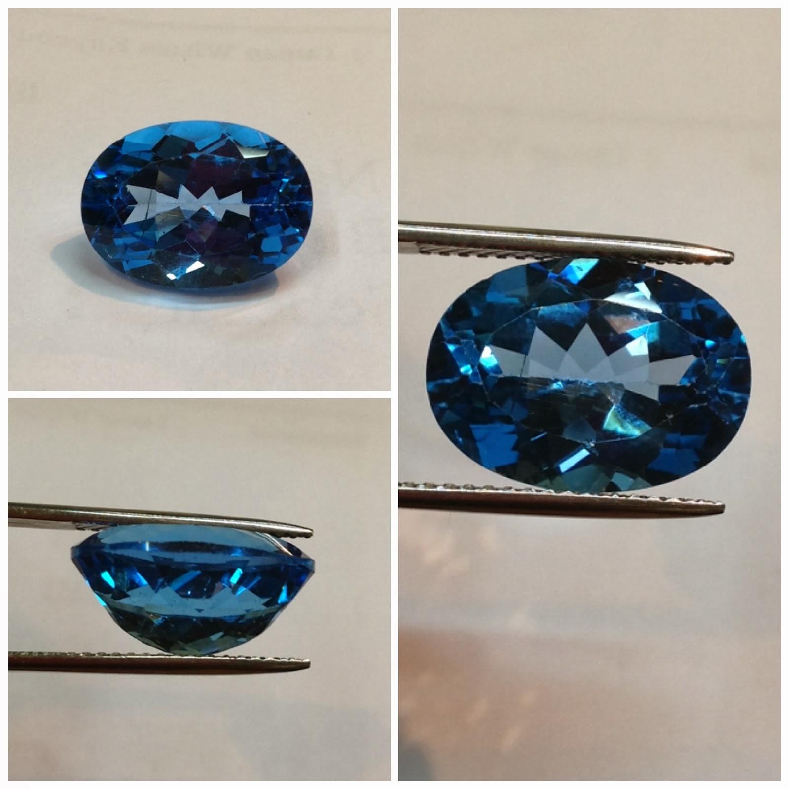 Natural blue topaz (KODE: TB0108) (Rp.1.600.000) nett