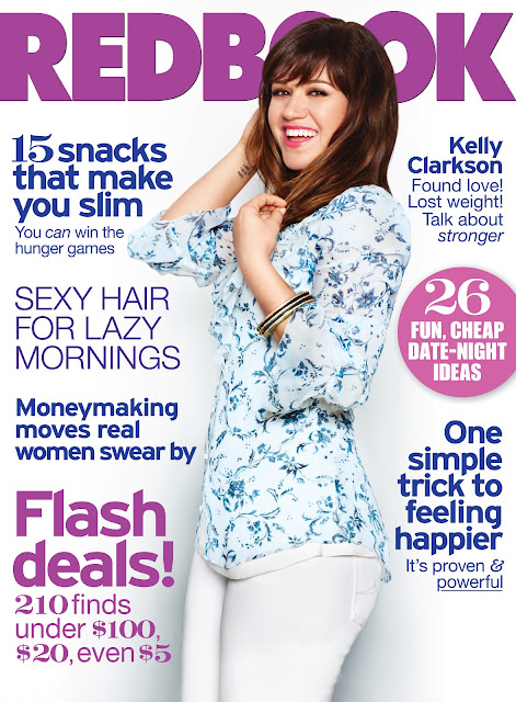 Kelly Clarkson covers Redbook