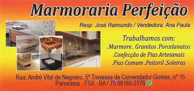 MARMORARIA PERFEIÇÃO