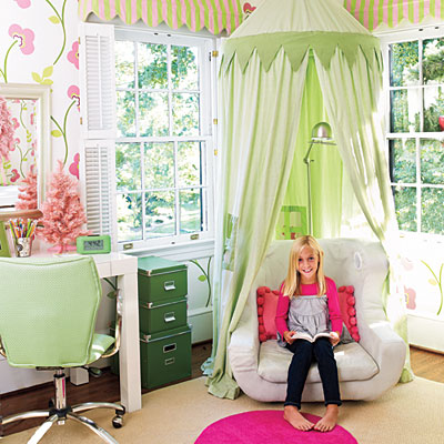 Preppy Pink And Green Home D Cor Driven By Decor