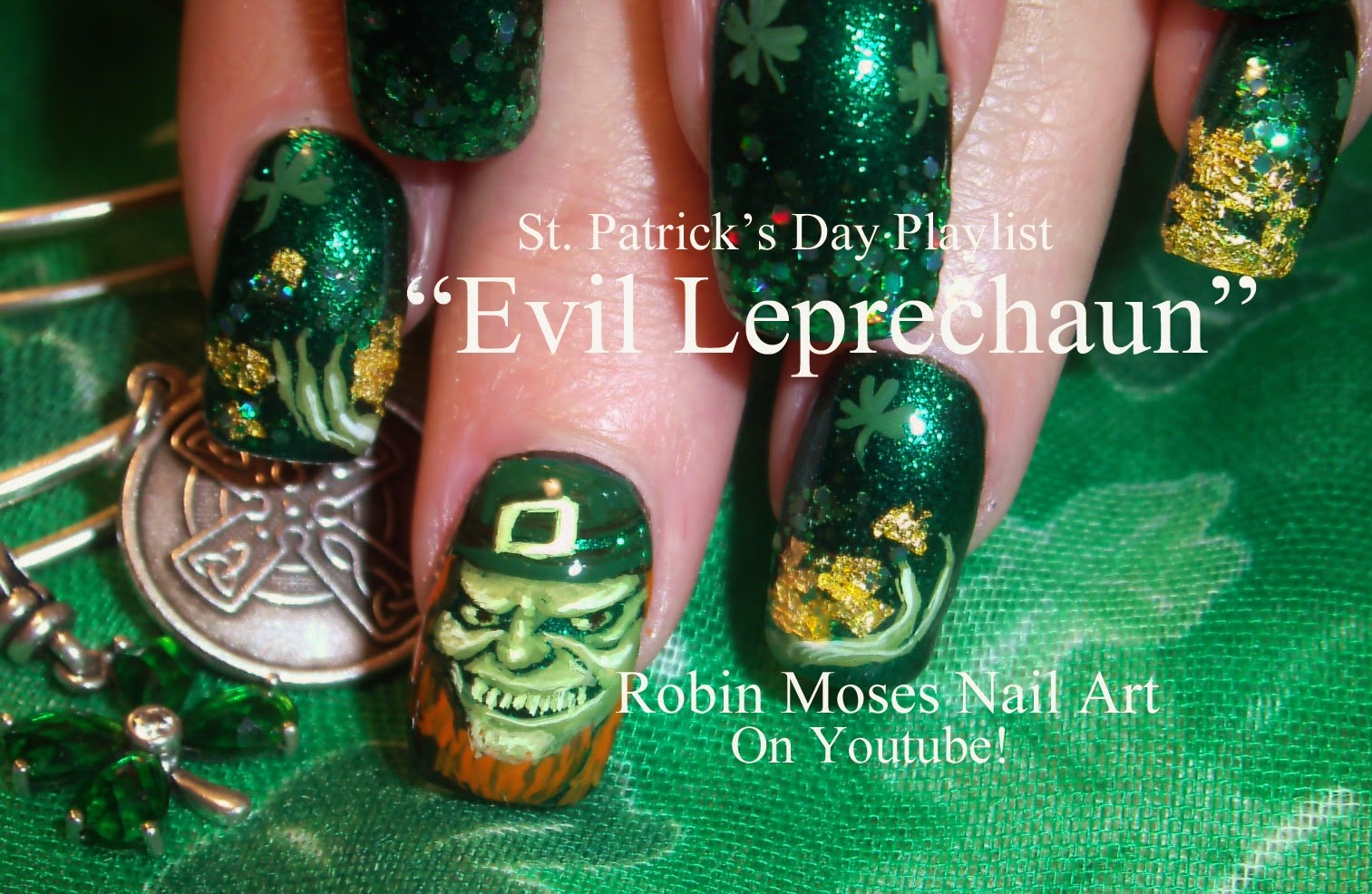 Robin moses nail art evil leprechaun leprechaun nails nail evil leprechaun leprechaun nails nail art st patricks day nail art leprechaun nail art shamrock nail art clover nail art st paddys day prinsesfo Gallery