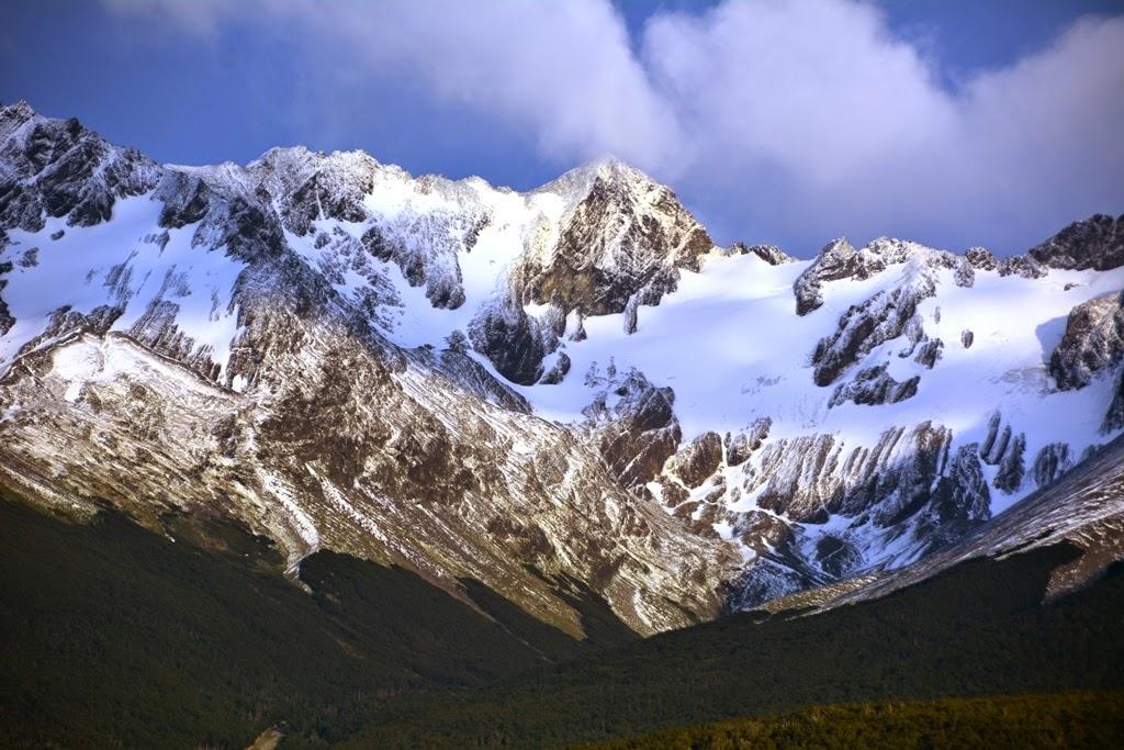 Ushuaia snow