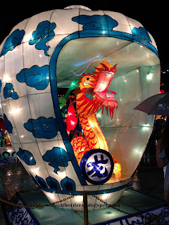 Dragon inside a Vase, in the Float in 2013 Chinese New Year, Singapore